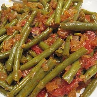 Fasolia (Greek Green Beans)