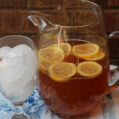 Lemon Almond Tea