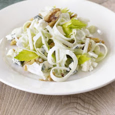 Celery 'string' Blue Cheese & Walnut Salad