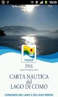Screenshot of Carta Nautica Lago di Como
