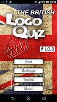 Screenshot of British Logo Quiz