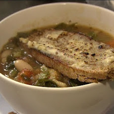 Minestrone Soup With Soda Bread Rarebit