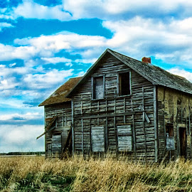 Days Gone By by Darren Walkey - Buildings & Architecture Decaying & Abandoned ( film, farm, old, ghost town, house, abandoned,  )