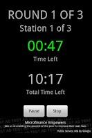 Screenshot of MMA Circuit Timer