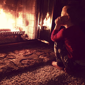 Staying warm. by Lori White - Instagram & Mobile iPhone