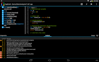 Screenshot of CppDroid - C/C++ IDE