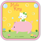 Hello Kitty Bubble & Pig Theme icon