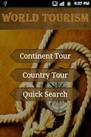 Screenshot of World Tourism