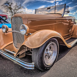 Tan Ford by Ron Meyers - Transportation Automobiles