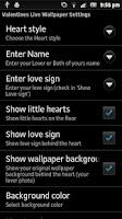 Screenshot of Valentines 3D Free Wallpaper