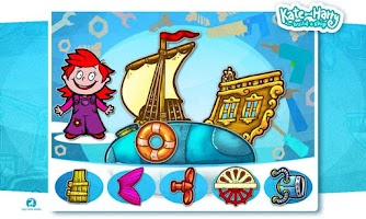 Screenshot of Build a Ship with Kate & Harry