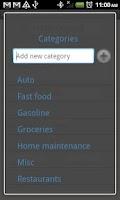 Screenshot of Easy Expense Pro