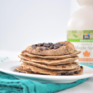 Chocolate Chip Chickpea Pancakes