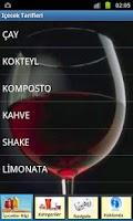 Screenshot of içecek tarifleri