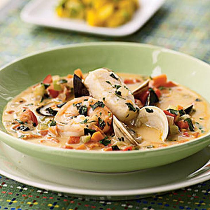 Thai-Coconut Bouillabaisse
