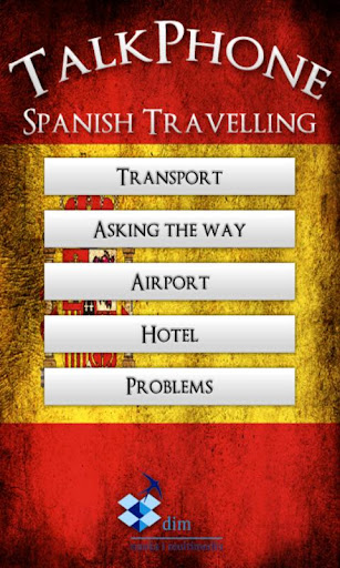 【免費旅遊App】TalkPhone Spanish Travelling-APP點子
