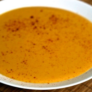 Butternut Squash Soup with Infused Cream