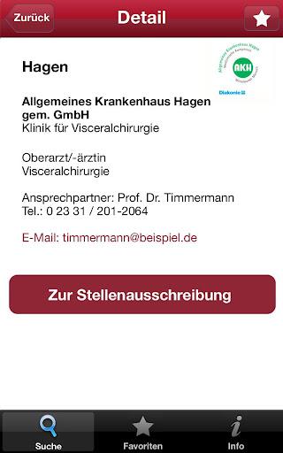 【免費醫療App】ArztKarriere-APP點子