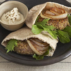 Lamb Burger Pittas