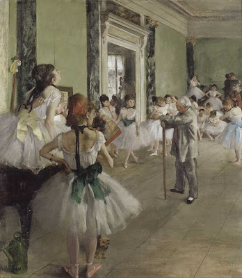The Ballet Class - Edgar Degas