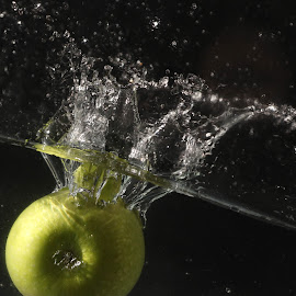 My Green Apple by Syahrul Nizam Abdullah - Food & Drink Fruits & Vegetables