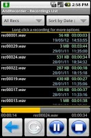 Screenshot of AndRecorder - Free
