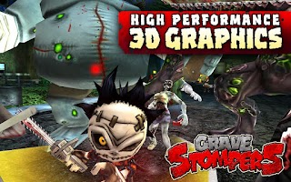 Screenshot of GraveStompers:Zombie vs Zombie