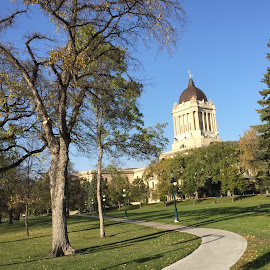 Winnipegs monument by Dhruv Mehta - Buildings & Architecture Public & Historical