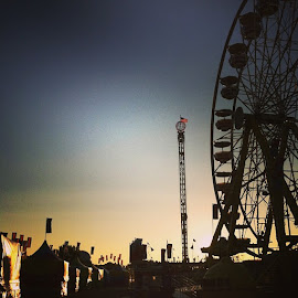 Bright and Early at The Big E by Brennan Cassidy - Instagram & Mobile iPhone