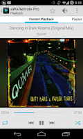 Screenshot of aWARemote for Winamp®