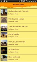 Screenshot of Gujarat Tourism