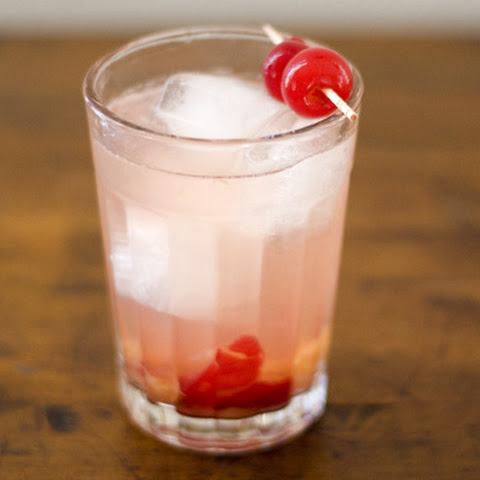 Sour Cherry Gin Cocktail