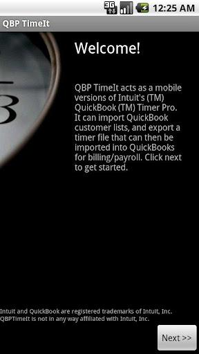 QBP TimeIt