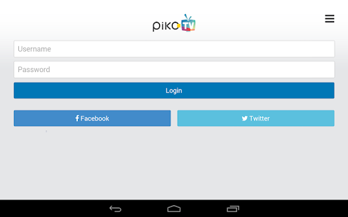 PikoTV - screenshot