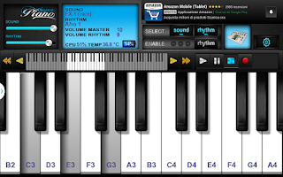 Screenshot of Super Piano FREE HD