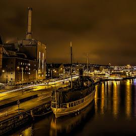 Harbor area in Gothenburg by Peter Björklund - City,  Street & Park  Skylines