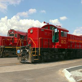 Side by Side by Kenny Fendler - Transportation Trains