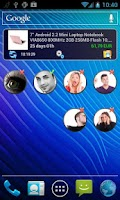 Screenshot of Friend Watcher Widget Facebook