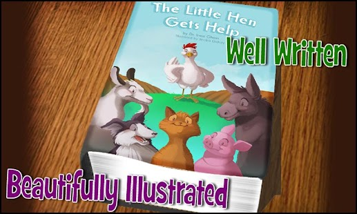 Little Hen - A kids story app - screenshot