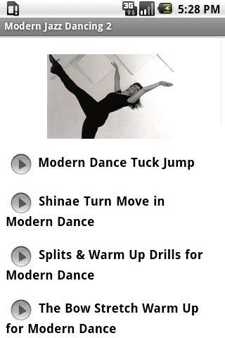 Modern Jazz Dancing 2