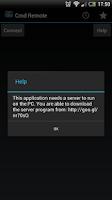 Screenshot of Cmd Remote