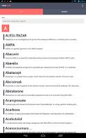 Screenshot of Drug Guide