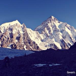 K2 Mountain Vs Everest Everest K2 News ExplorersWeb - K2 Base Camp, Broad Peak C1 and ...