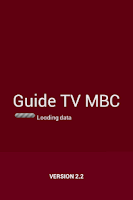 Screenshot of Guide TV MBC 2014