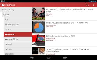 Screenshot of Dotekománie.cz