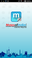 Screenshot of Maps of India:Travel Guide
