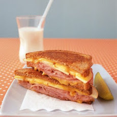 Apple, Ham, and Cheddar Melt