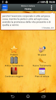 Screenshot of Bibbia in italiano
