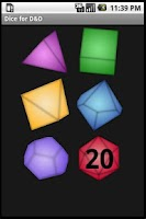 Screenshot of Dice for D&D