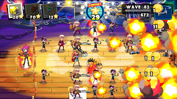 Screenshot of Rock Stars vs. Paparazzi